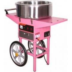 Аппарат для сахарной ваты starfood 1633010 с тележкой (диам.720мм)