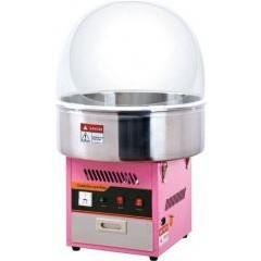 Аппарат для сахарной ваты viatto et-mf01 с куполом