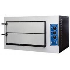 Печь для пиццы atesy пп-2-2/400 риальто классик