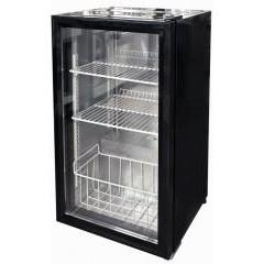 Барный морозильник convito jga-sc98 со стеклянной дверью