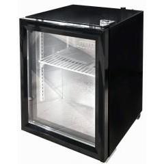 Барный морозильник convito jga-sc68 со стеклянной дверью