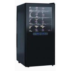 Двухзонный винный шкаф gastrorag jc-68dfw