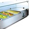 Холодильная витрина koreco vrx1500380(395ii)