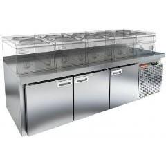 Стол морозильный hicold gn 111/bt lt sh