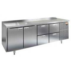 Стол морозильный hicold gn 112 br2 bt