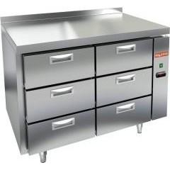 Охлаждаемый стол hicold gn 33/tn p