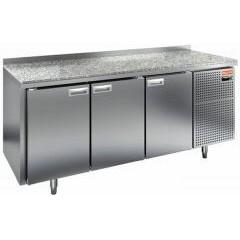 Охлаждаемый стол hicold gn 111/tn камень