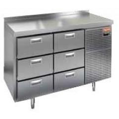 Охлаждаемый стол hicold gn 1113 br3 tn