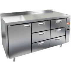 Охлаждаемый стол hicold sn 133/tn p