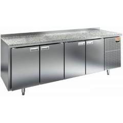 Охлаждаемый стол hicold sn 1111/tn камень