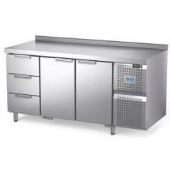 Охлаждаемый стол atesy диксон стх-3/1670м с ящиками