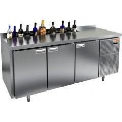 Охлаждаемый стол под бутылки hicold sn 111 ht v