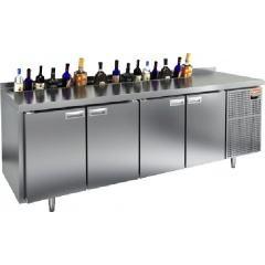 Охлаждаемый стол под бутылки hicold gn 1111 ht v