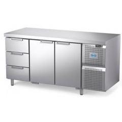 Охлаждаемый стол atesy диксон стх-2/1670м с ящиками