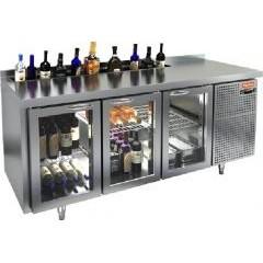 Охлаждаемый стол под бутылки hicold sng 111 ht v