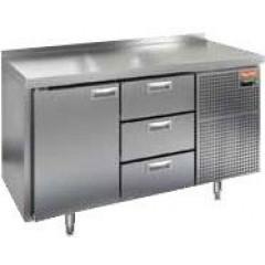 Охлаждаемый стол hicold gn 1133 br2 tn