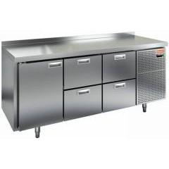 Охлаждаемый стол hicold gn 122/tn