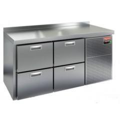 Охлаждаемый стол hicold gn 22 br2 tn