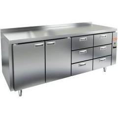 Охлаждаемый стол hicold gn 1133/tn p