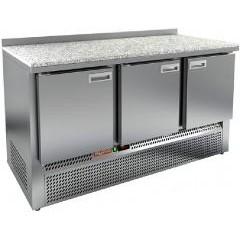 Охлаждаемый стол hicold gne 111/tn (камень)