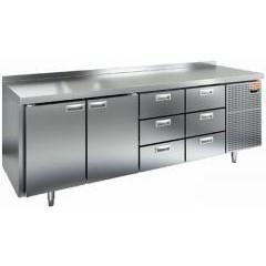 Охлаждаемый стол hicold sn 1133/tn