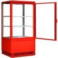 Шкаф-витрина холодильный starfood bsf170/40 красный