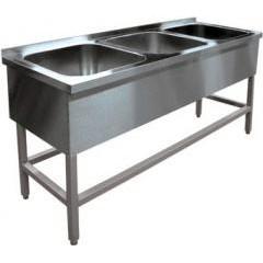 Ванна моечная hessen вмц 3/15644 (нерж)