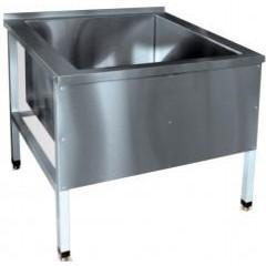 Ванна котломоечная abat вмп-9-1 (нержавеющая сталь)