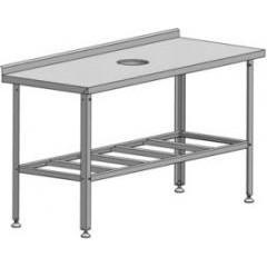 Стол производственный для сбора отходов марихолодмаш спсо-1-0,6-0,95 (нержавейка)