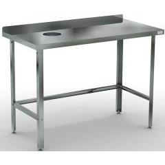 Стол для сбора отходов кобор сроб-120/60/430 л/п