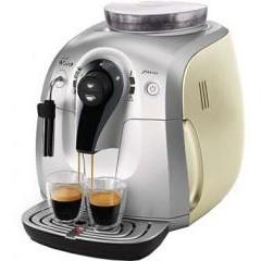 Автоматическая кофемашина saeco xsmall silver-cream hd8745/11