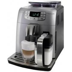 Автоматическая кофемашина saeco intelia cappuccino pearl silver/black hd8753/79