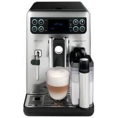 Автоматическая кофемашина saeco exprelia evo steel/black hd8855/09