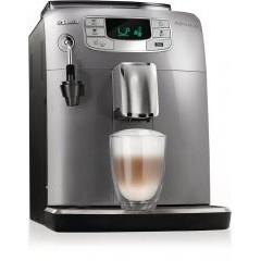 Автоматическая кофемашина saeco intelia evo pearl silver/black hd 8752/99