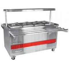 Прилавок холодильный abat передвижная пвв(н)-70пм-нш