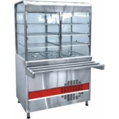 Прилавок-витрина холодильный abat аста пвв(н)-70км-с-03-нш