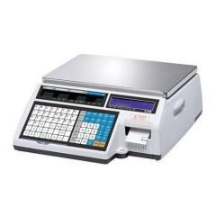 Весы с чекопечатью cas cl-5000-15b