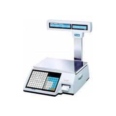 Весы с чекопечатью cas cl-5000-15р