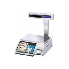 Весы с чекопечатью cas cl-5000j-06ip