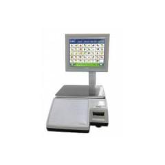 Весы с чекопечатью cas cl-7000-06s