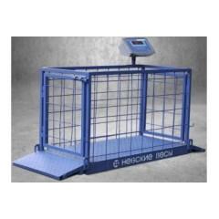 Весы для взвешивания животных всп4-150 жсо (для взвешивания поросят)