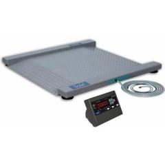 Промышленные электронные платформенные весы с 4 датчиками 1скт(ски-12)
