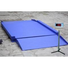 Промышленные платформенные электронные весы с пандусом с 4 датчиками всп4-2000.2 н9-1515