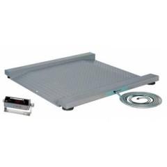 Промышленные электронные платформенные весы с 4 датчиками 0,5скт(ci-2001a)