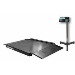 Промышленные платформенные электронные весы с пандусом с 4 датчиками 4d-la-4-1000