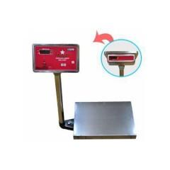 """Промышленные электронные платформенные весы с 1 датчиком мп-150-вда ф-3 (400х500;20/50) """"красная армия"""""""