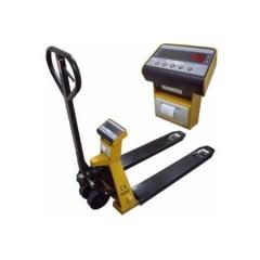 Тележка гидравлическая с весами ЕВ4-1500РТ (WI-7), встроен принтер